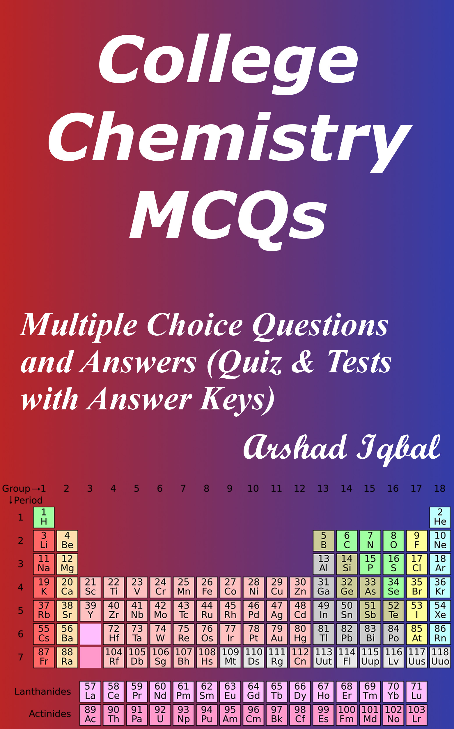 College Chemistry MCQs: Multiple Choice Questions and Answers (Quiz & Tests with Answer Keys)
