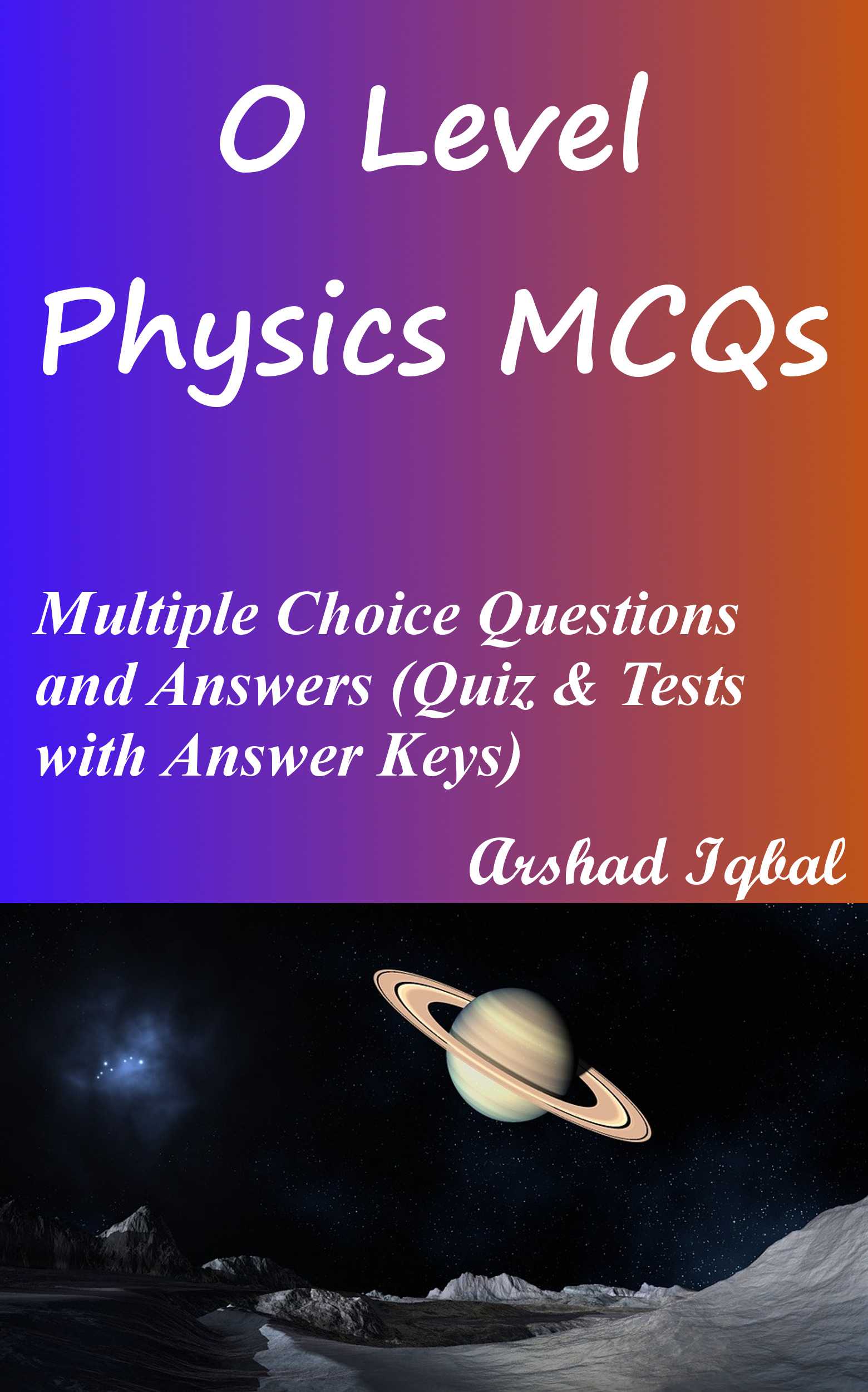O Level Physics Multiple Choice Questions and Answers (MCQs): Quizzes & Practice Tests with Answer Key