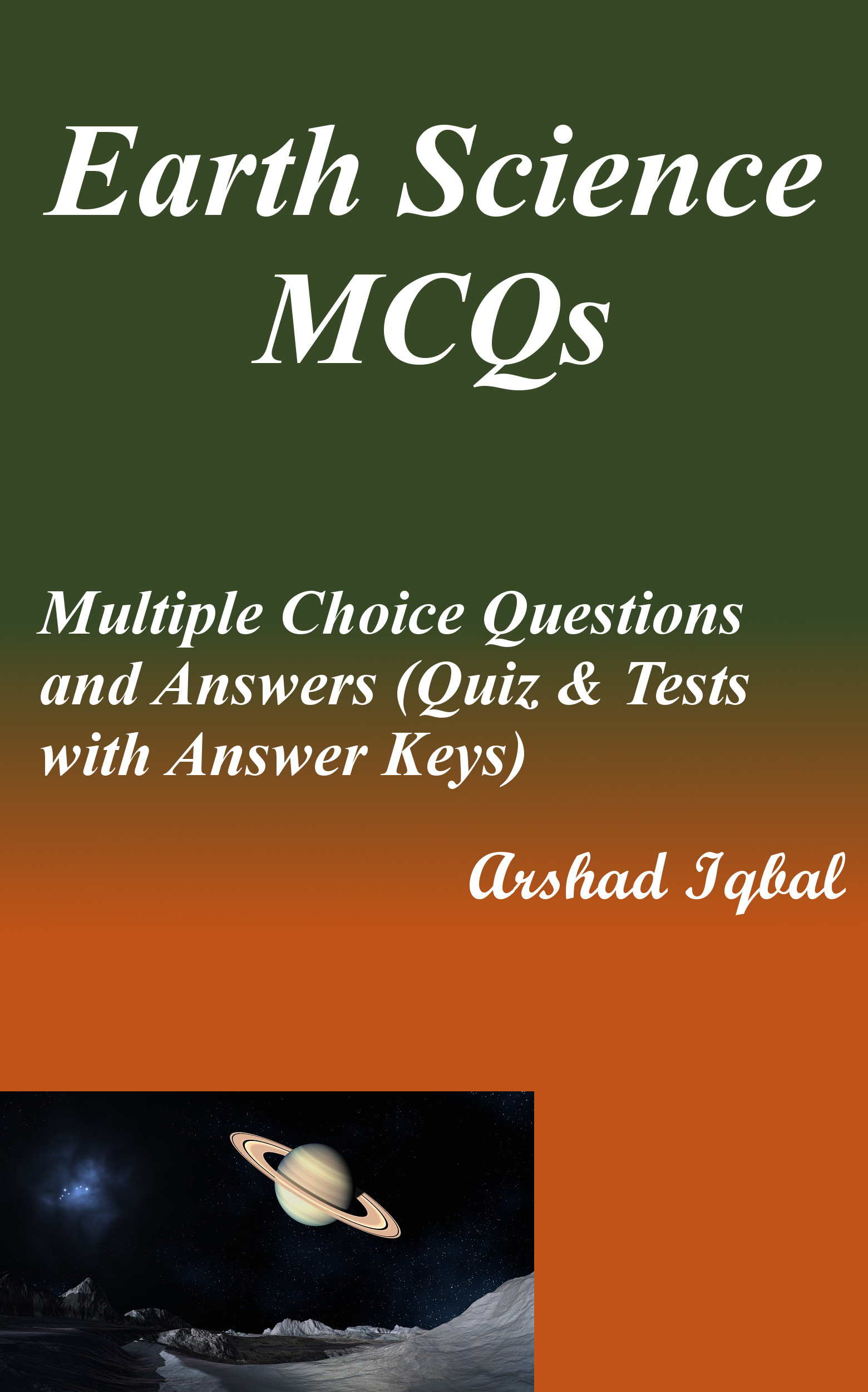 Earth Science MCQs: Multiple Choice Questions and Answers (Quiz & Tests with Answer Keys)